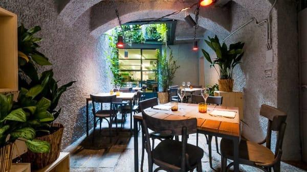 Esterno con tavoli - Vecchio Ristorante Fiume, Morbegno