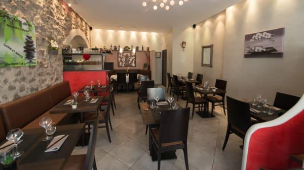 Salle du restaurant - La Cafetière Fêlée, Antibes
