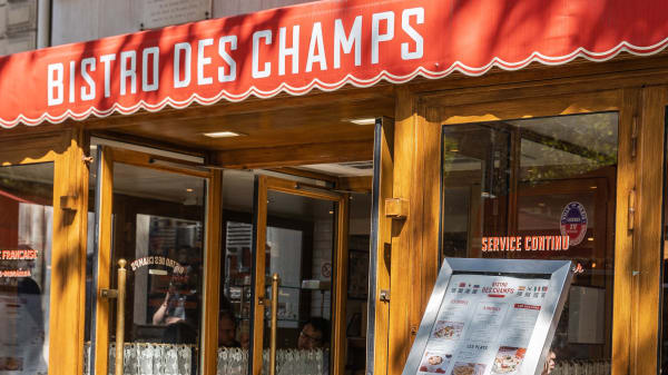 Bistro des Champs, Paris