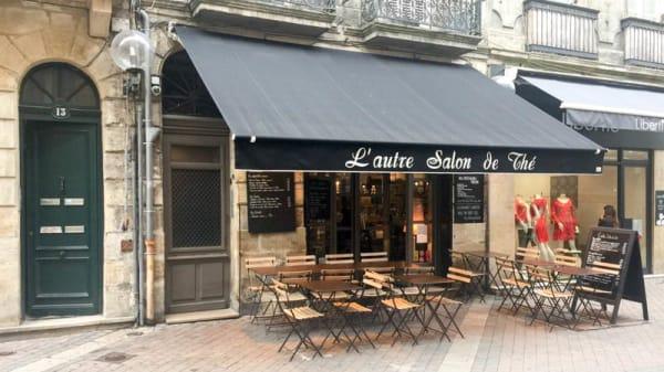 Devanture - L'Autre Salon de Thé, Bordeaux