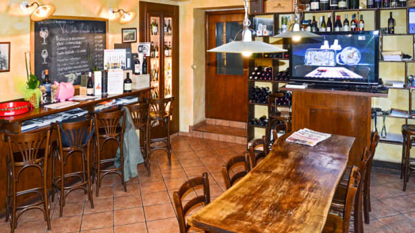 Wine Bar - Locanda Milano, Brunate