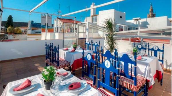 Vista terraza - La Hostería de Doña Lina, Sevilla