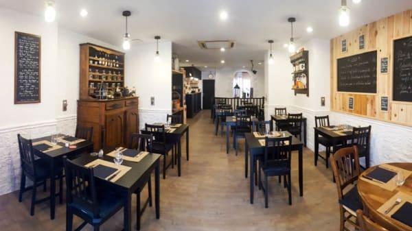 Salon du restaurant - Le Petit Bouchon, Dax