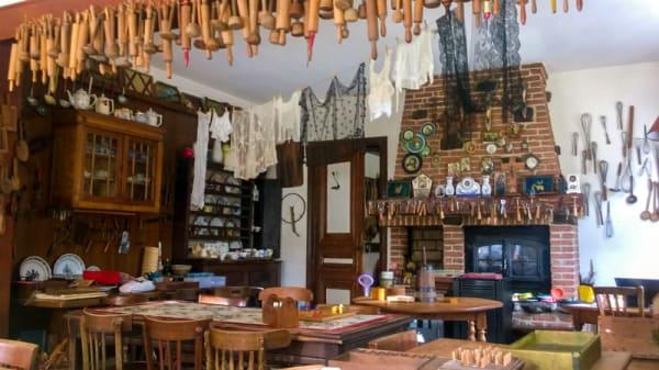 Salle du restaurant - Estaminet A l'Ancienne Gare, Godewaersvelde