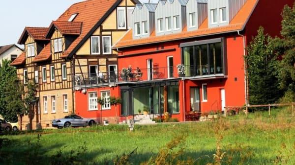 Hotelansicht / Haupteingang - Hotel Brennhaus Behl, Blankenbach