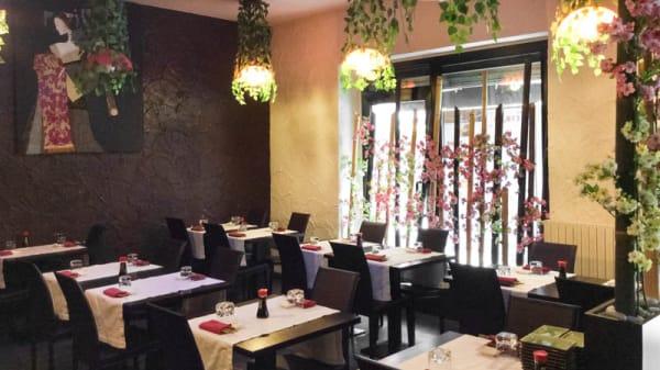 sala - Dao Sushi, Milan