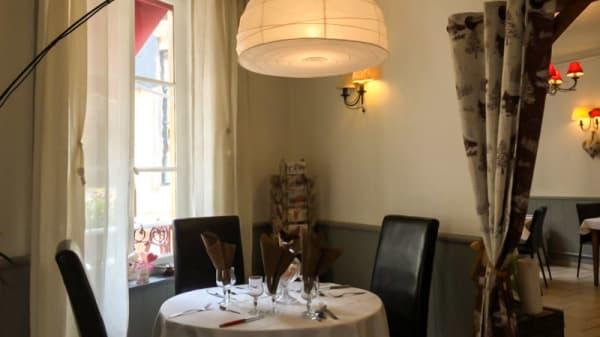 Vue de la salle - La Table de Mathieu, La Bourboule