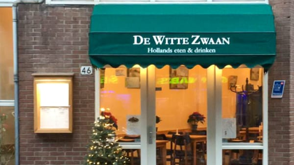 Ingang - De Witte Zwaan, Ámsterdam