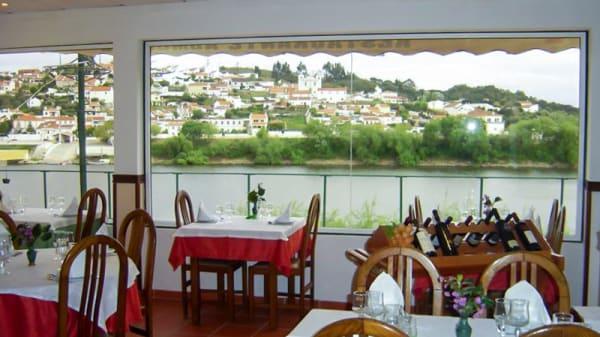 sala do restaurante - Almourol, Tancos