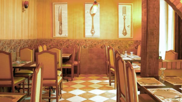 intérieure - La Table de Gascogne, L'Isle-Adam
