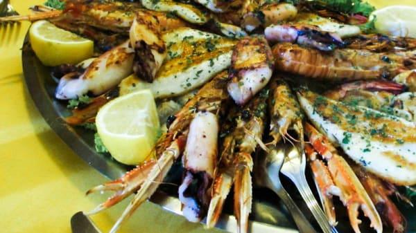 Speciale frittura di mare - Antichi Sapori di Alberto CARLEO, Como