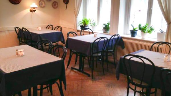 Vue de la salle - Restaurang Clemens, Lund