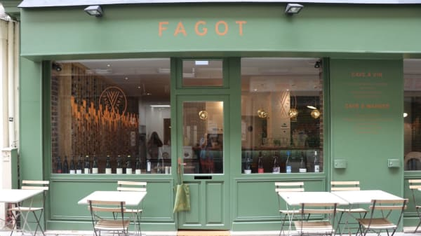 terrasse - Fagot, Paris
