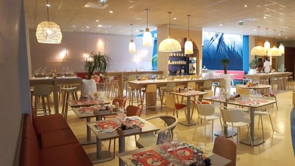 Salle du restaurant - Les Aludes, Toulon