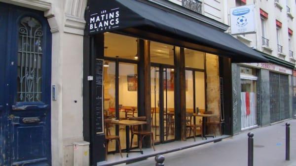 Entrée - Les Matins Blancs, Paris