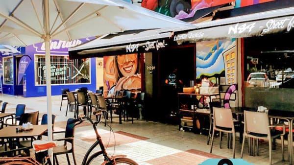Entrada - N87 Street food, Málaga