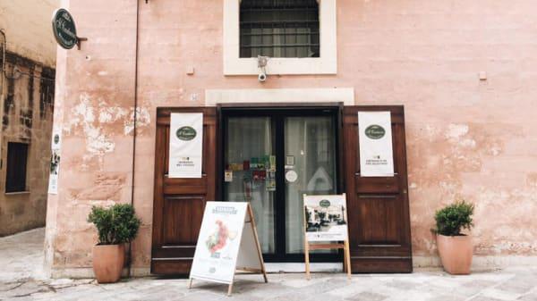 Entrata - Il Cantuccio, Matera