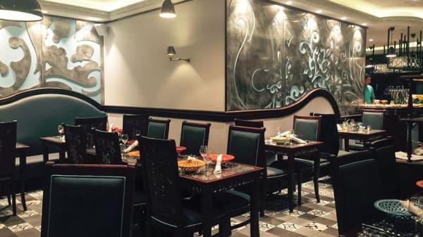 Salle du restaurant - Le Grandel, Gennevilliers