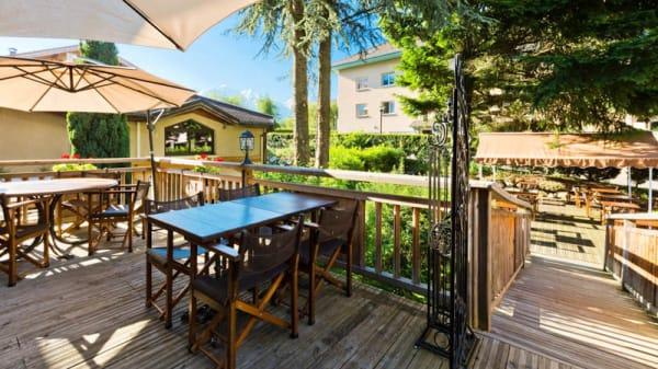 Terrasse - Les Près du Rosay, Sallanches