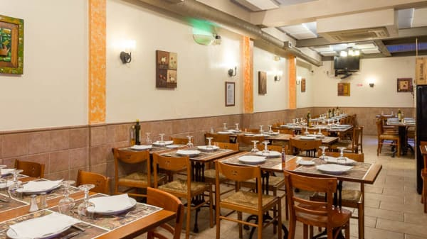 sala do restaurante - Adega Já Fumega, Lisbon