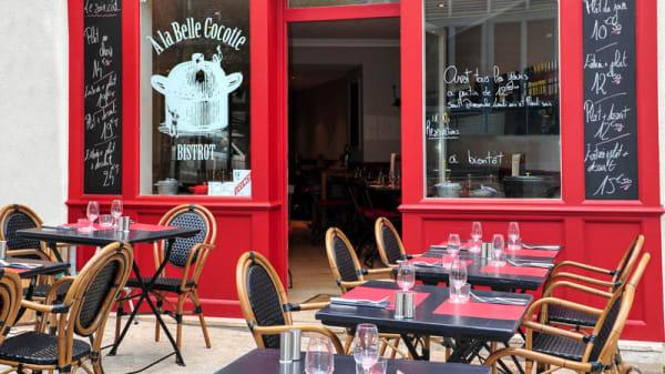 Vue de la terrasse - À la Belle Cocotte, Nantes