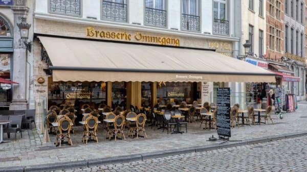 Terrasse - Ommegang, Brussels