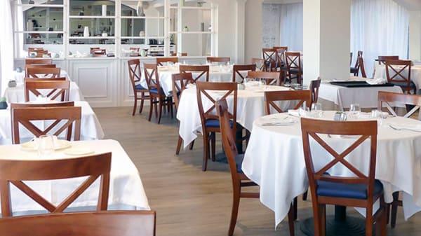 Vista sala - L'Ermita Restaurant (Hotel Gran Sol), San Pol de Mar