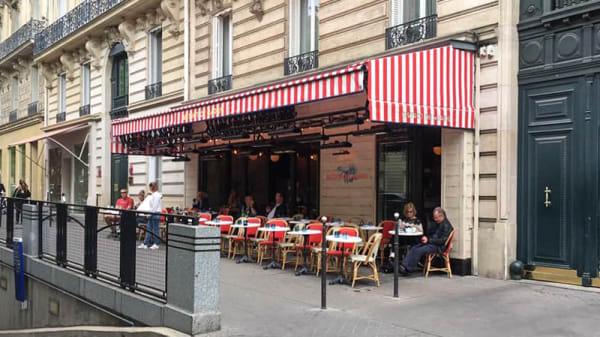 Terrasse - Bistrot de Marius, Paris