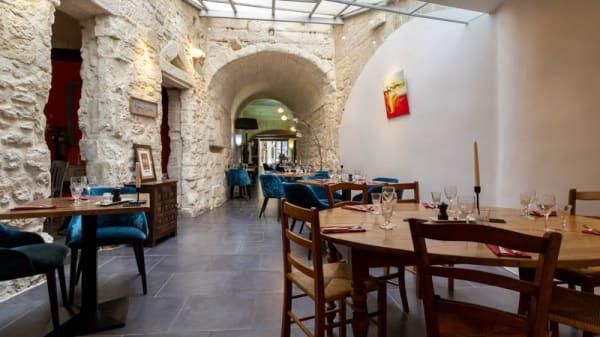 Vue de la salle - La Cuisine Du Dimanche, Avignon