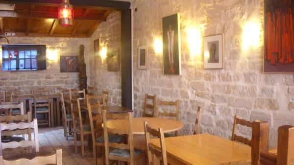 Vue de la salle - Barak, Paris