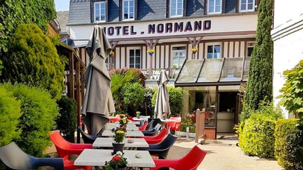 Façade - Hôtel Normand, Yport