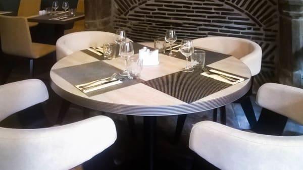 Table ronde à l'étage - Chez Kub, Rennes