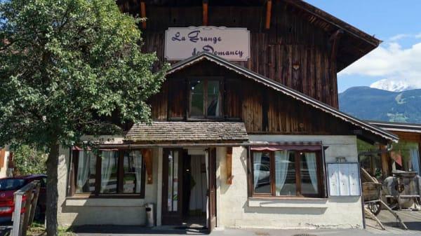 Façade - La Grange de Domancy, Domancy