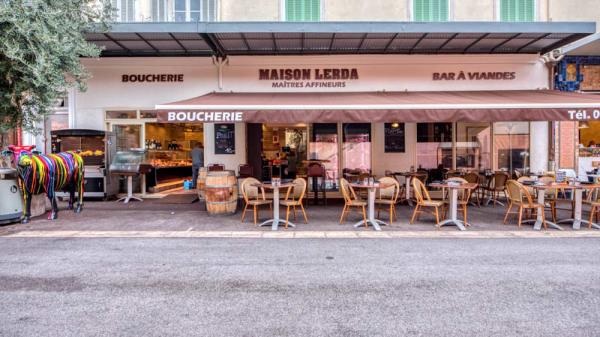 Façade - Maison Lerda, Cannes