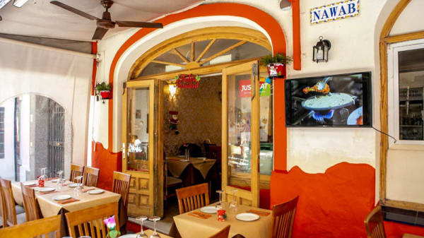 Vista del interior - Nawab Indian Restaurant, Fuengirola