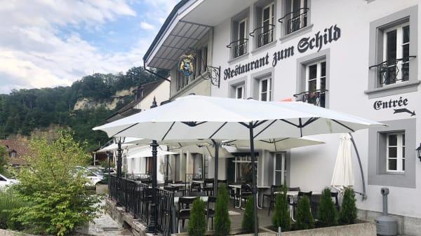 Terrasse - Restaurant du Schild, Fribourg