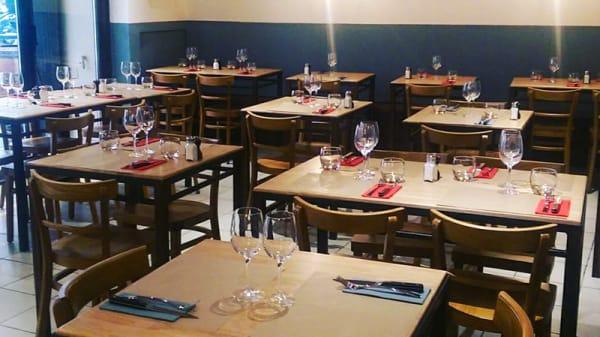Salle du restaurant - Cantine du Faubourg, Montpellier