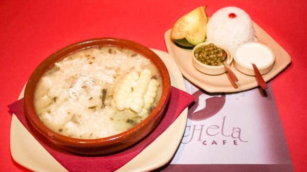 plato tipico - La Rochela, Madrid