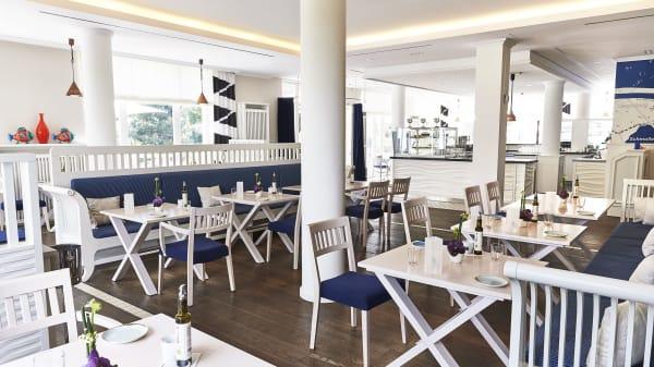 Waterfront Restaurant Innenbereich - Bistro & Bar Waterfront, Heringsdorf