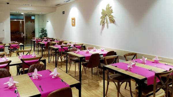 Vista del interior - Restaurant Puerto Escondido, Barcelona