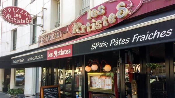Entrée - Pizza Les Artistes, Paris