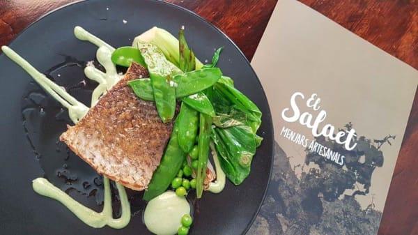 Sugerencia de plato - El Salaet, Xàbia