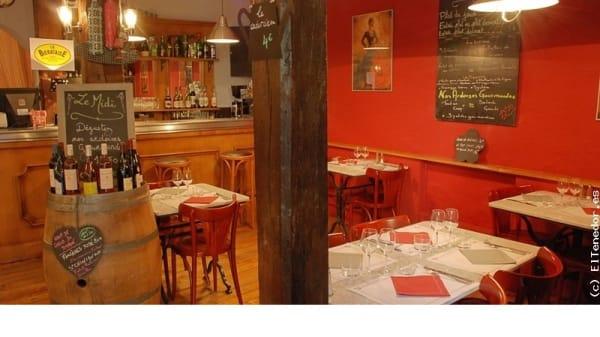 Salle du restaurant - L'Ô Zen Bistro, Toulouse
