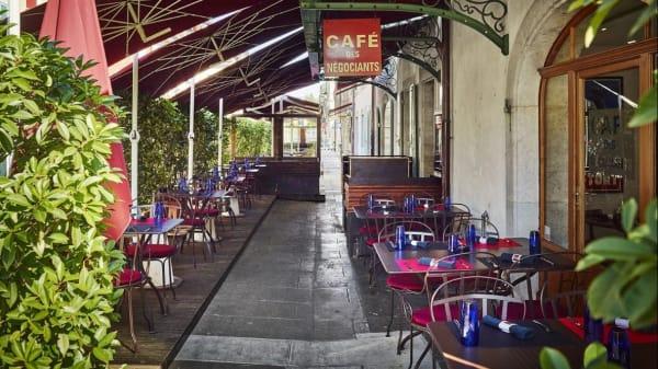 Terrasse - Café des Négociants, Carouge
