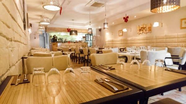 salle du restaurant - A la Table de Nicolas, Saint-Rémy-de-Provence