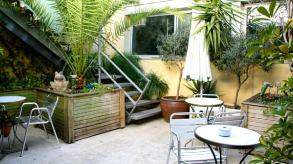 Vista terraza - Calasanz - Hotel Calasanz, Molins De Rei
