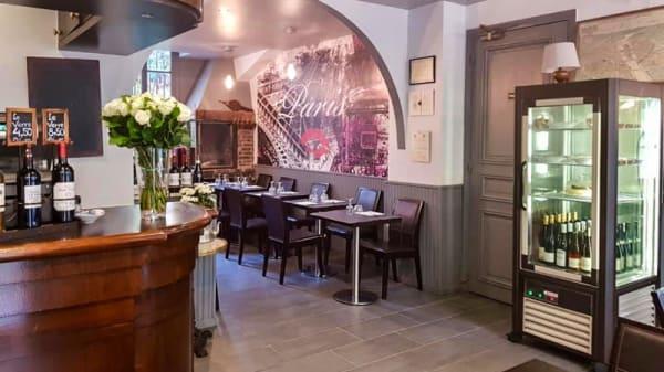 Salle du restaurant - Le Bistrot de Pipa, Paris