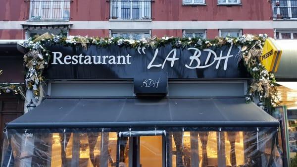 """Entrée - """"LA BDH"""" ( La brasserie des halles ), Le Havre"""