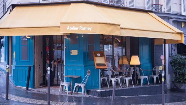 Entrée - Atelier Ramey, Paris