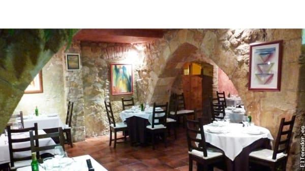 Vista general comedor - Arcs, Tarragona